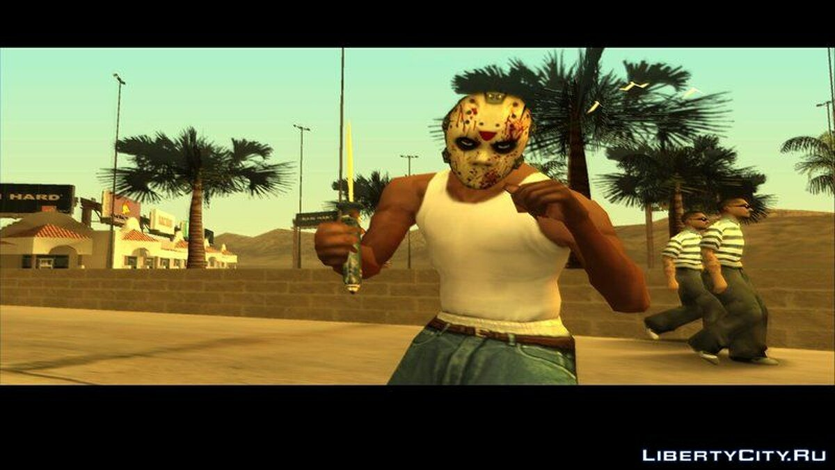 Hats Mask from Manhunt for GTA San Andreas