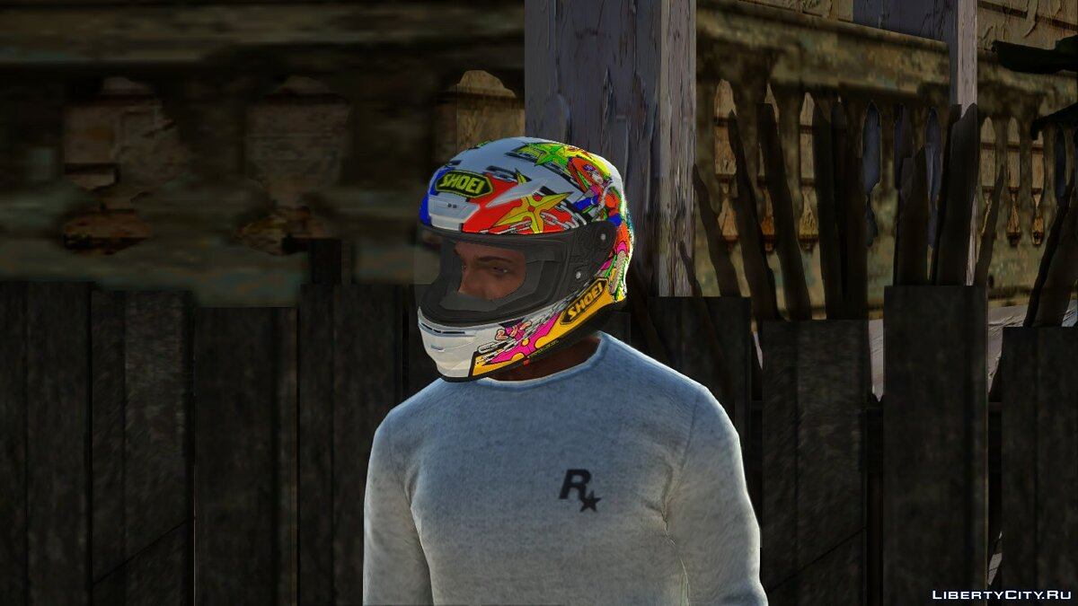 Hats Shoei NXR Motorcycle Helmet for GTA San Andreas