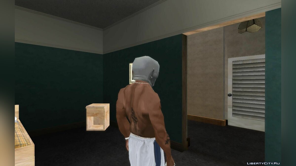 Hats Mask alien from the game Bully SE for GTA San Andreas