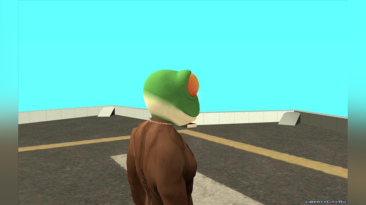 Hats Mask frogs from the game The Sims 3 for GTA San Andreas