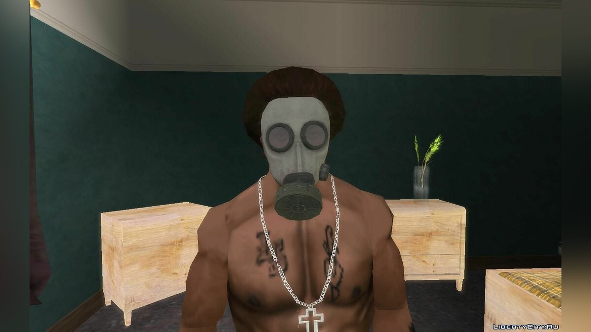 Hats Gas mask from Call of Duty Modern Warfare 2 for GTA San Andreas