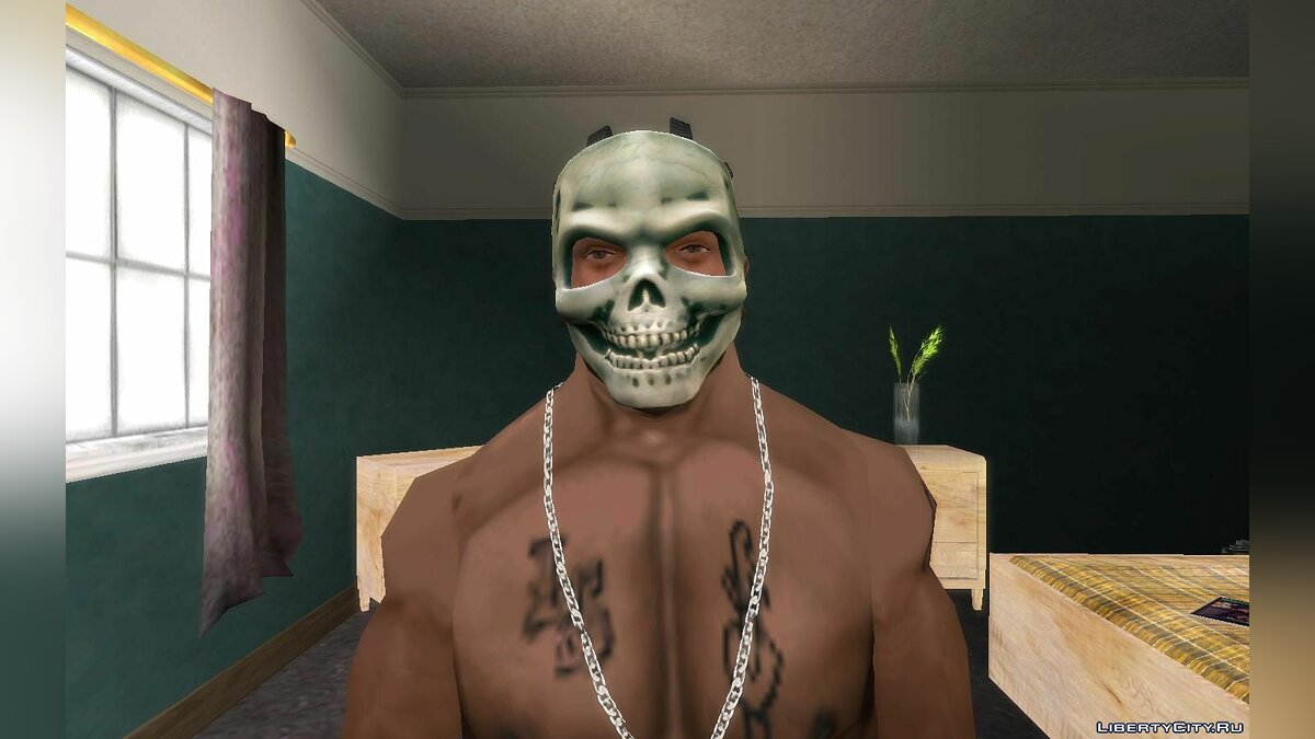 Hats Halloween masks from Payday The Heist v1.0 for GTA San Andreas