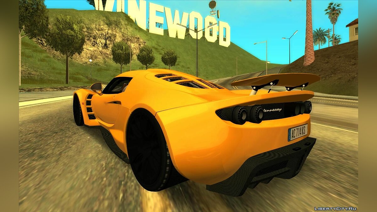Hennessey Performance Engineering car Hennessey Venom GT for GTA San Andreas