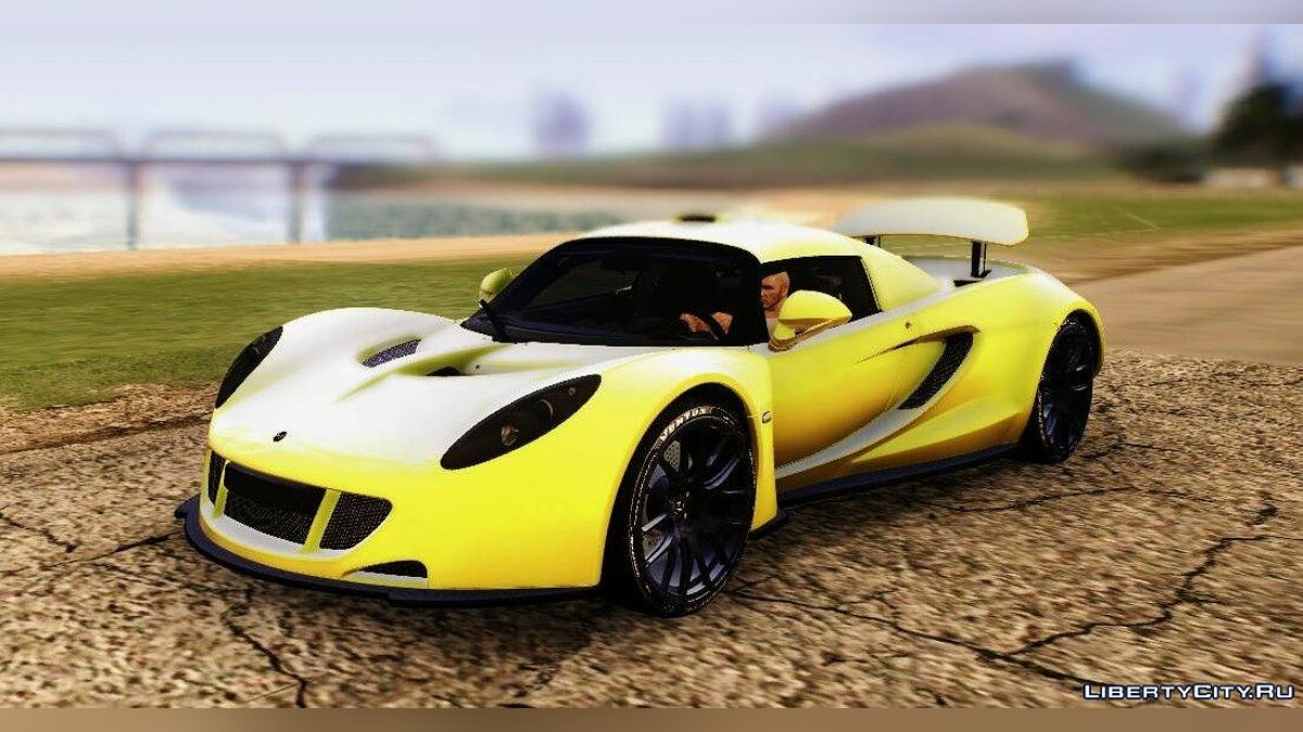 Hennessey Performance Engineering car Hennessey Venom GT U.S.A American 2012 for GTA San Andreas