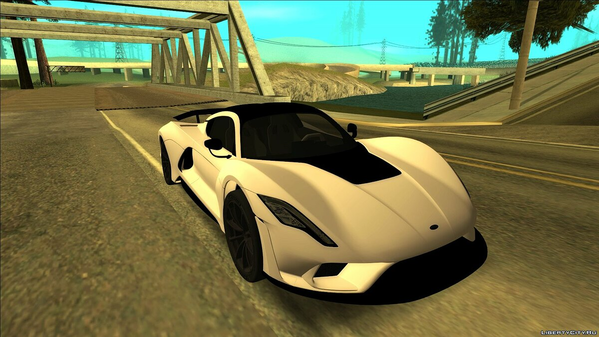 Hennessey Performance Engineering car Hennessey Venom F5 for GTA San Andreas