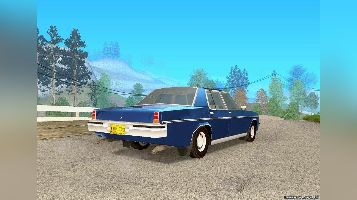 Holden car Holden HX Statesman DeVille 1976 for GTA San Andreas