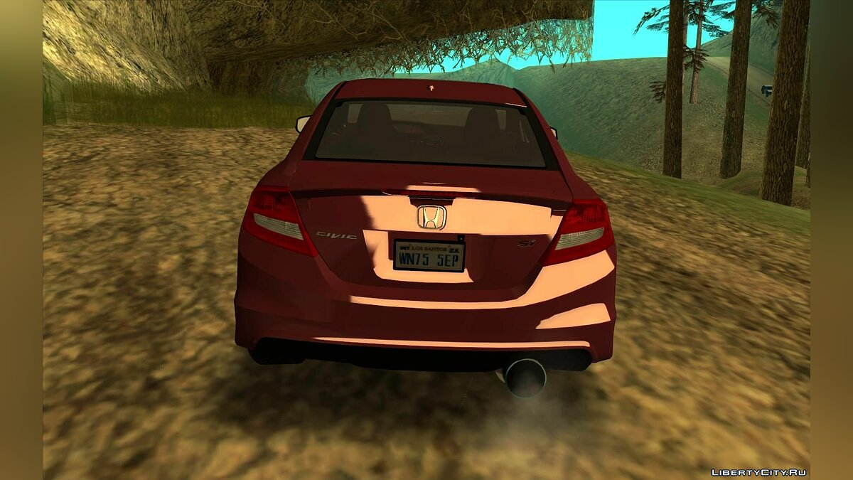 Honda car Honda Civic Si 2012 for GTA San Andreas