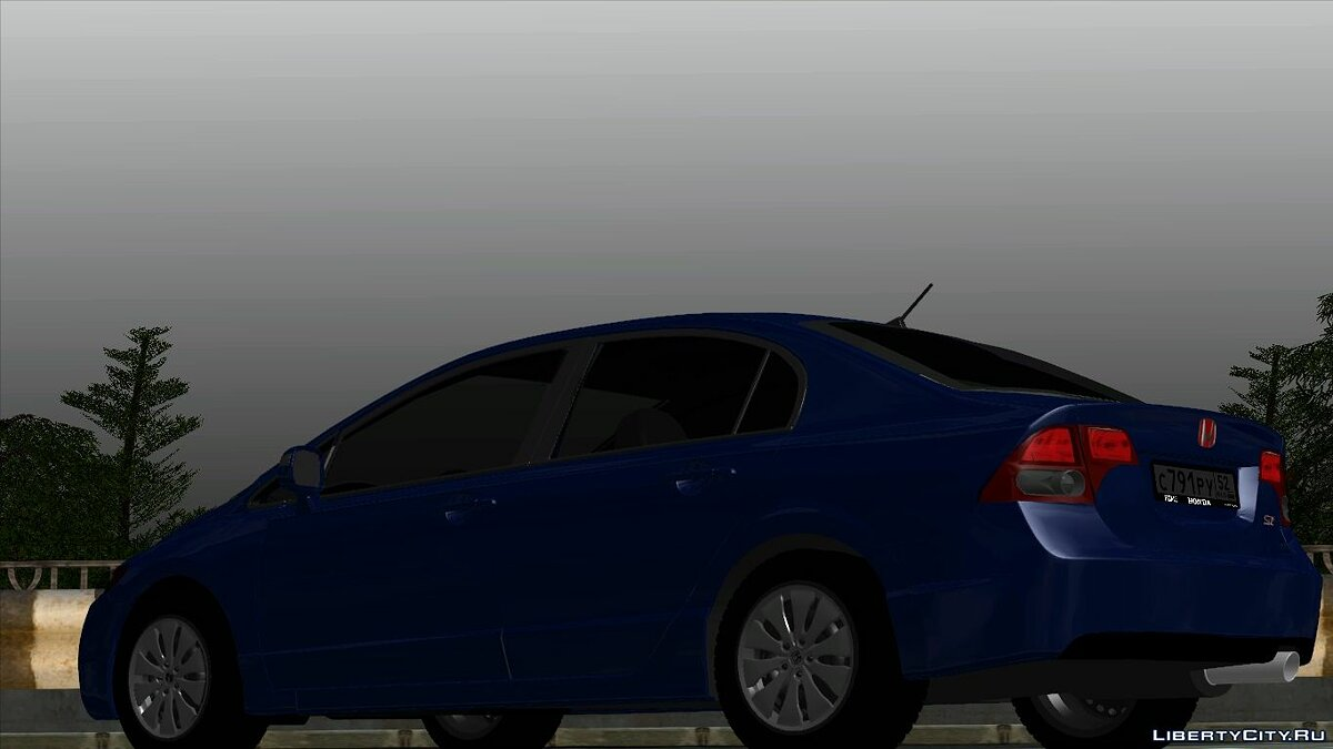 Honda car Honda civic si for GTA San Andreas