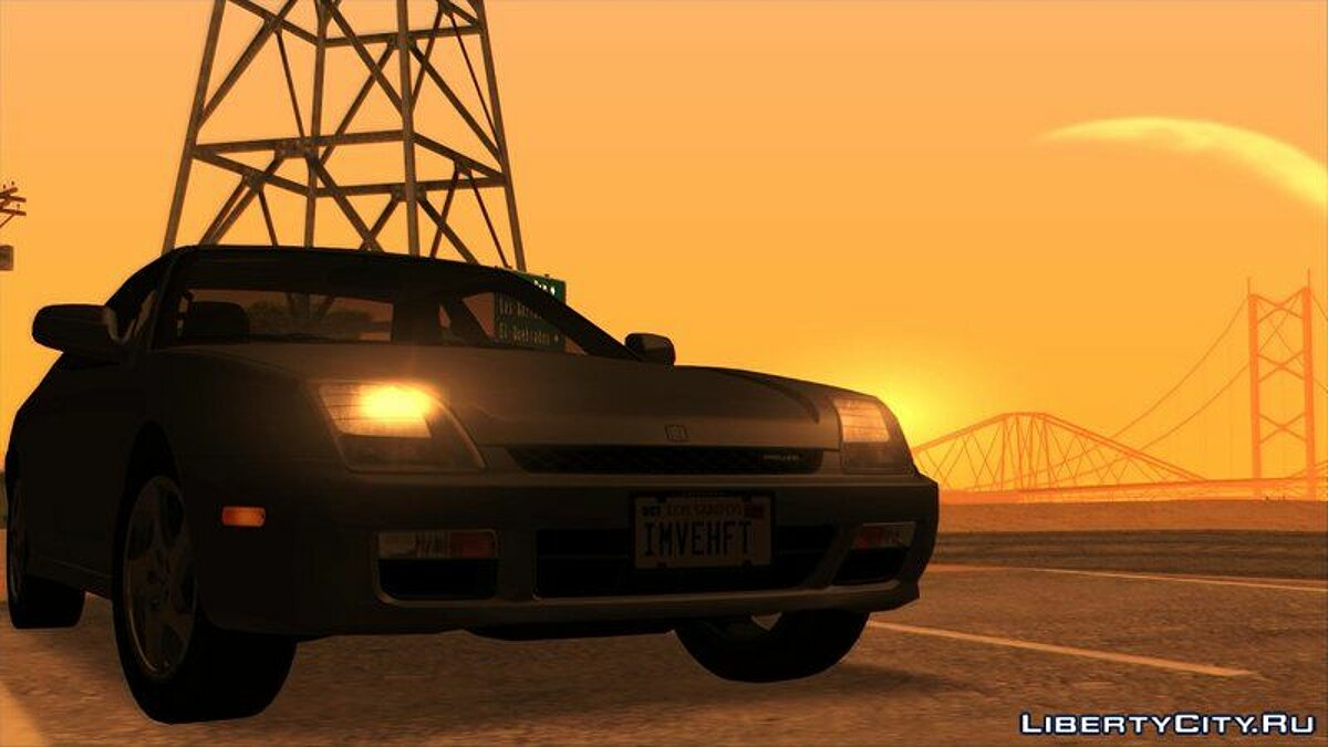 Honda car Honda Prelude Mk5 1998 (US-Spec) [Tunable] for GTA San Andreas