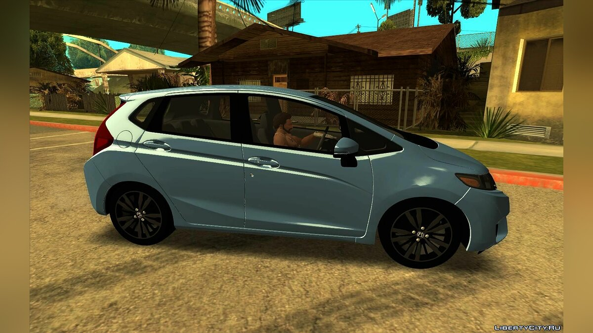 Honda car Honda Fit 2015 for GTA San Andreas