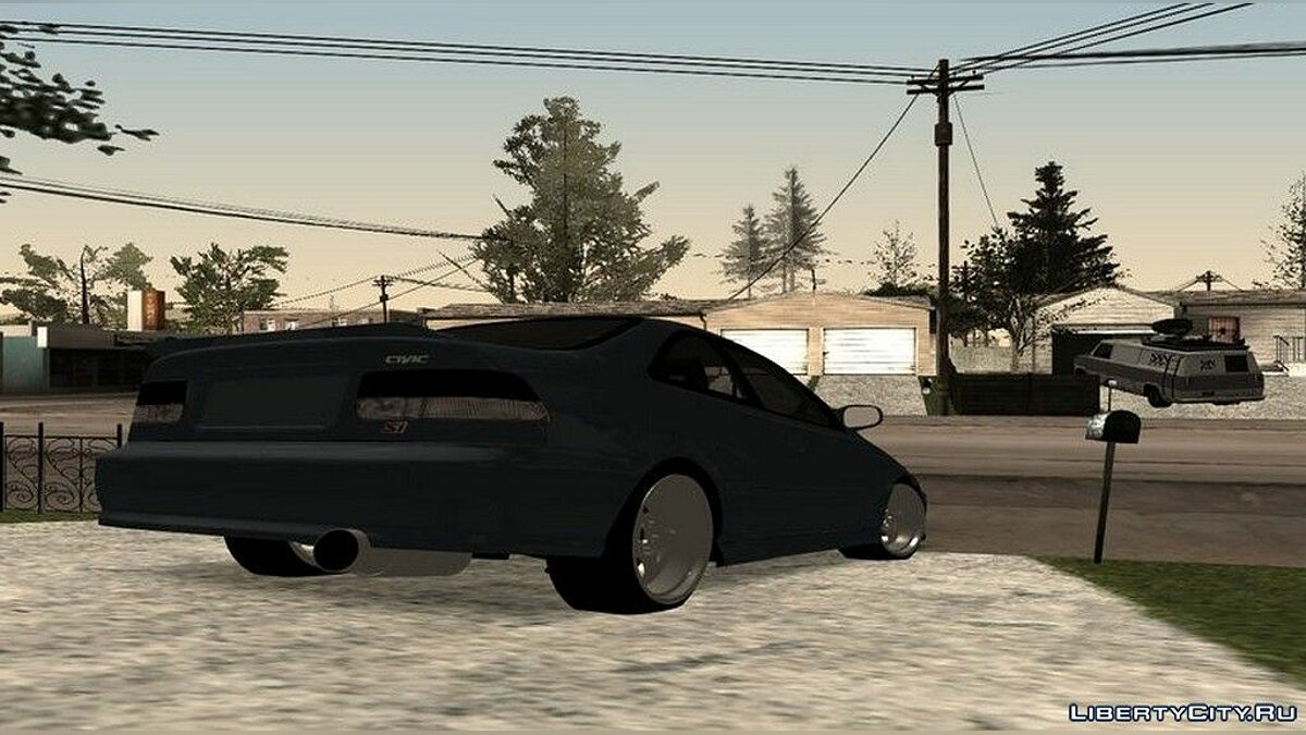 Honda car Honda Civic ´99 Swap K20z3 for GTA San Andreas