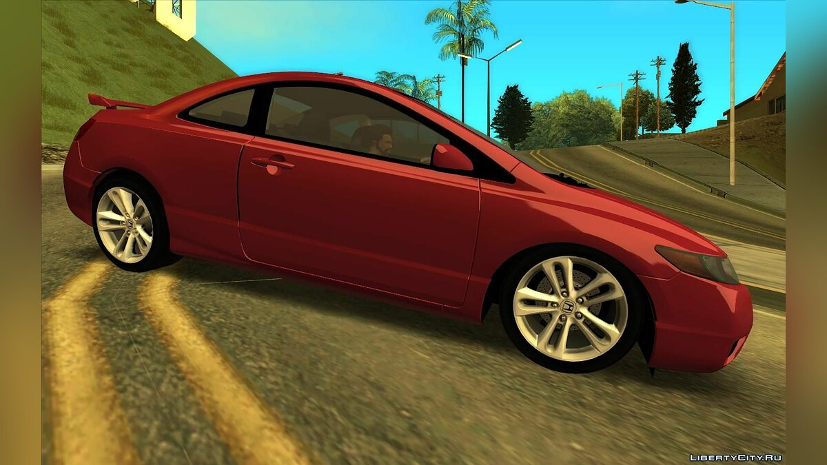 Honda car Honda civic for GTA San Andreas