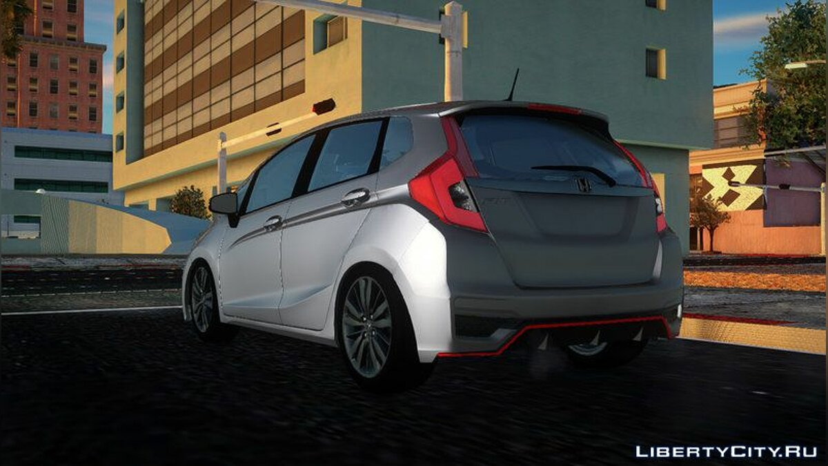 Honda car 2018 Honda Fit Facelift for GTA San Andreas