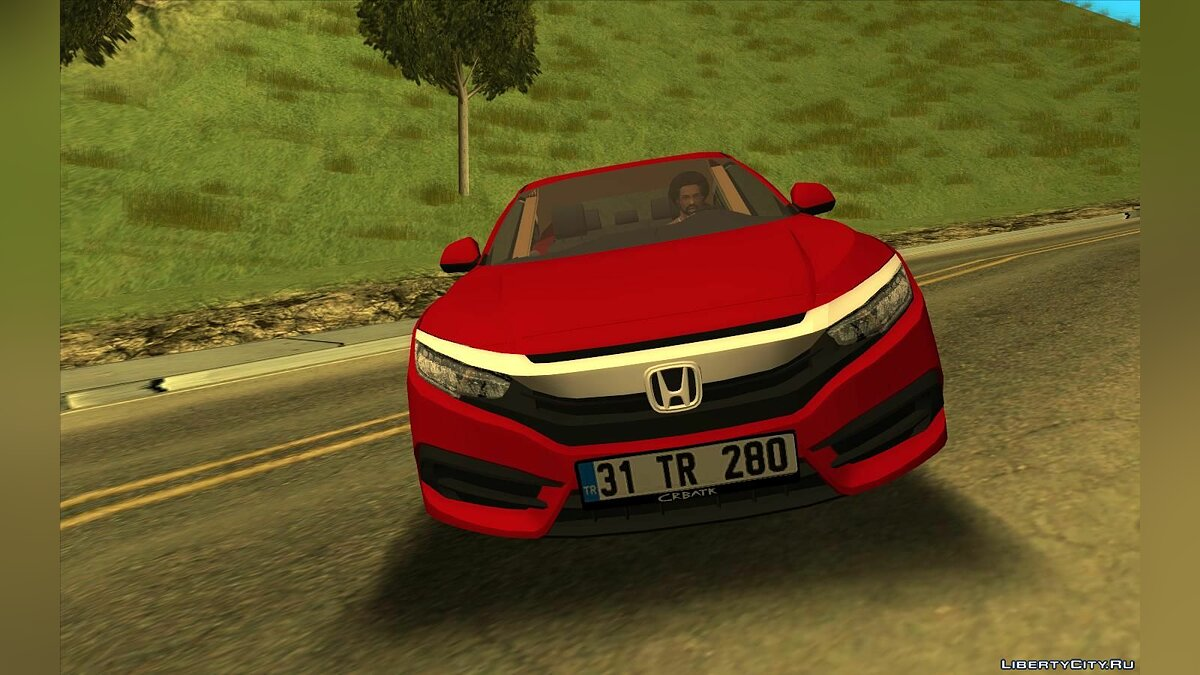 Honda car Honda civic fc5 for GTA San Andreas