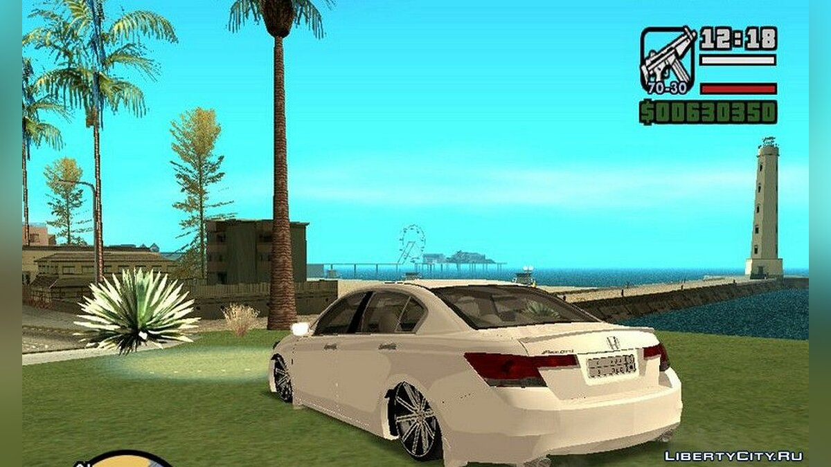Honda car Honda accord for GTA San Andreas