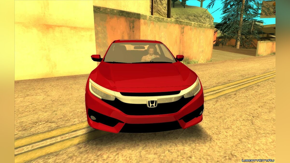 Honda car Honda Civic 2017 for GTA San Andreas