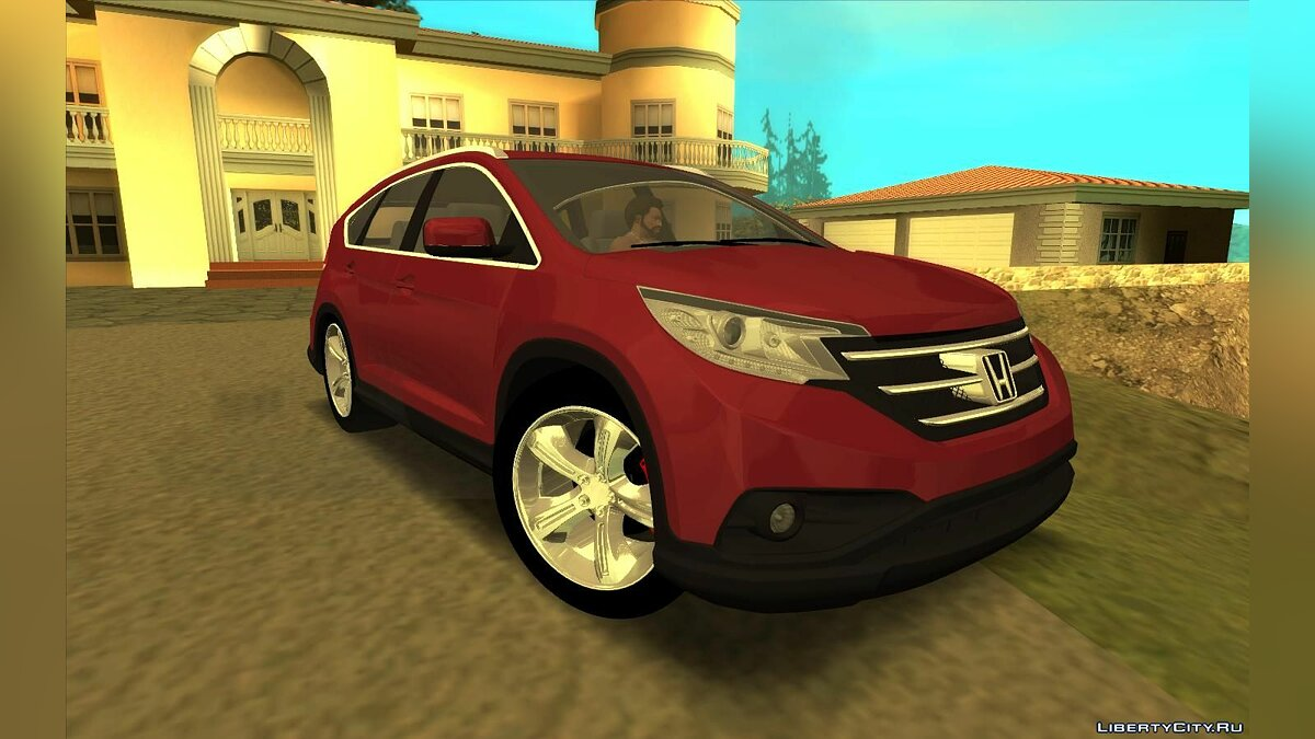 Honda car Honda CR-B 2014 for GTA San Andreas