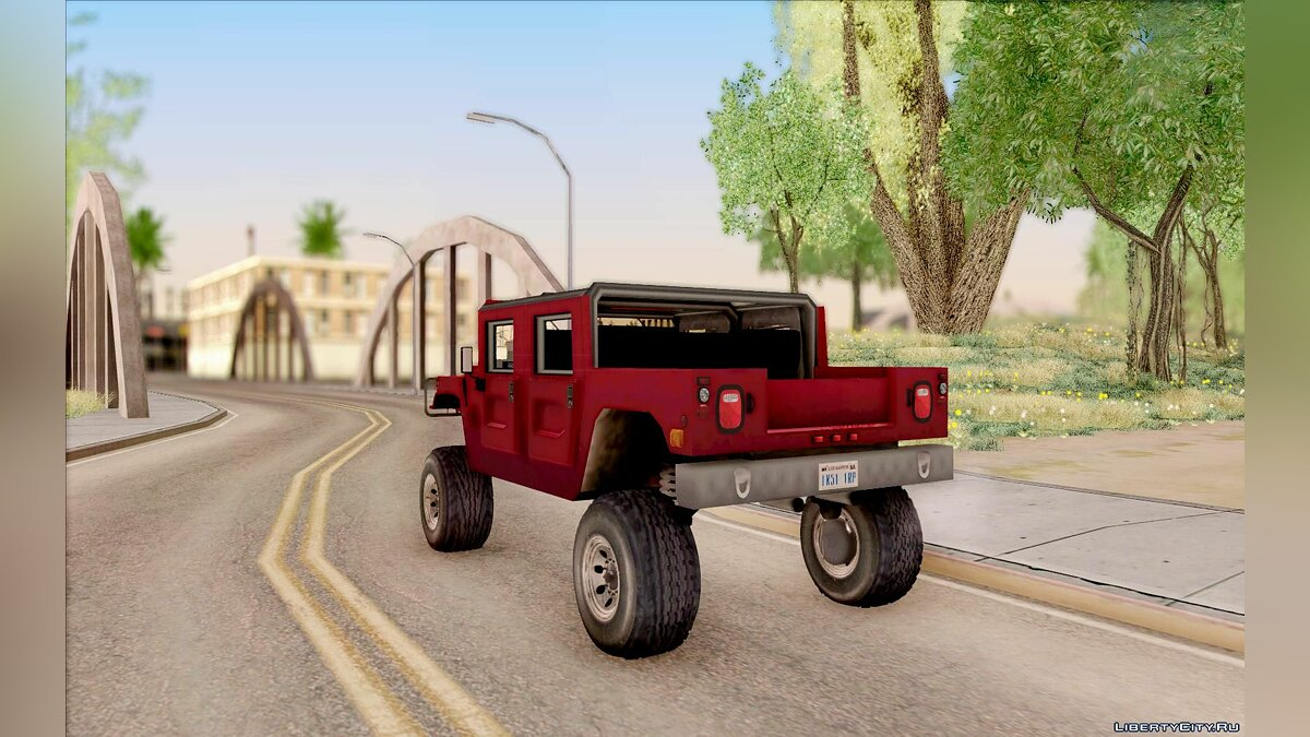 Hummer car Hummer Civilian Vehicle 1986 for GTA San Andreas