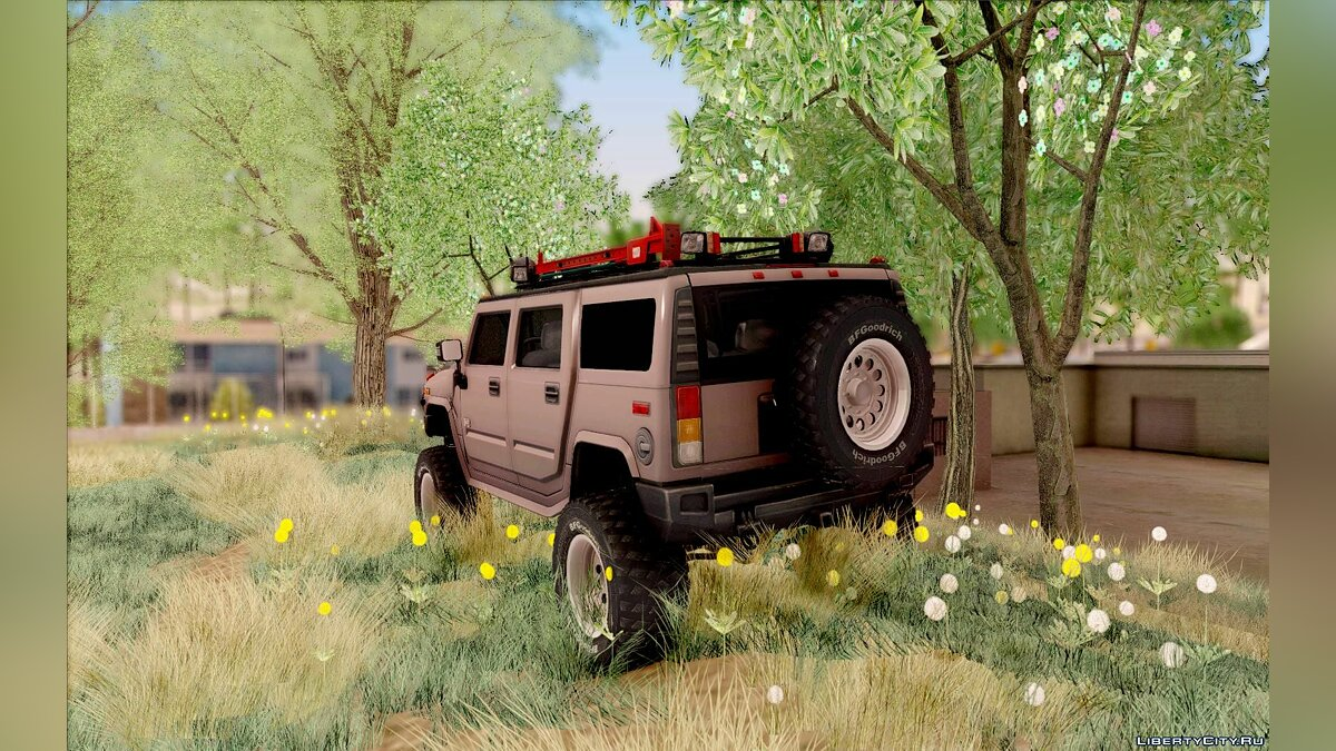 Hummer car Hummer H2 Monster 4x4 for GTA San Andreas
