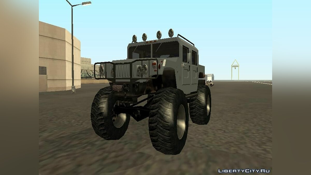 Hummer car Hummer H1 Monster Truck for GTA San Andreas