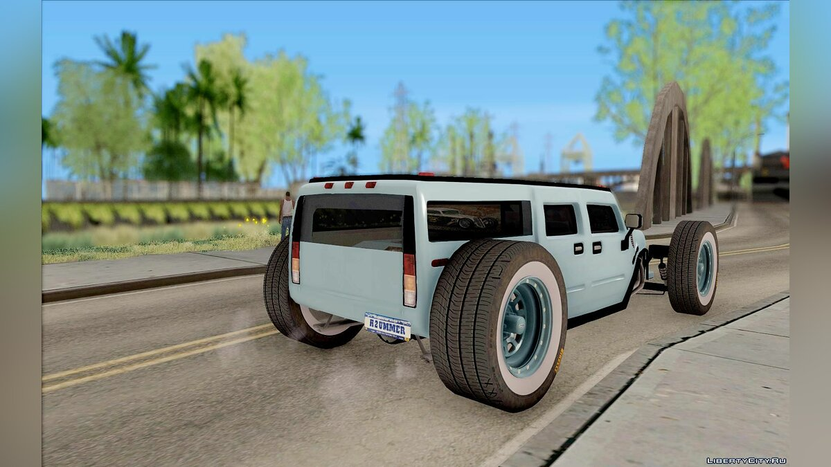 Hummer car Hummer H2 The HumROD for GTA San Andreas