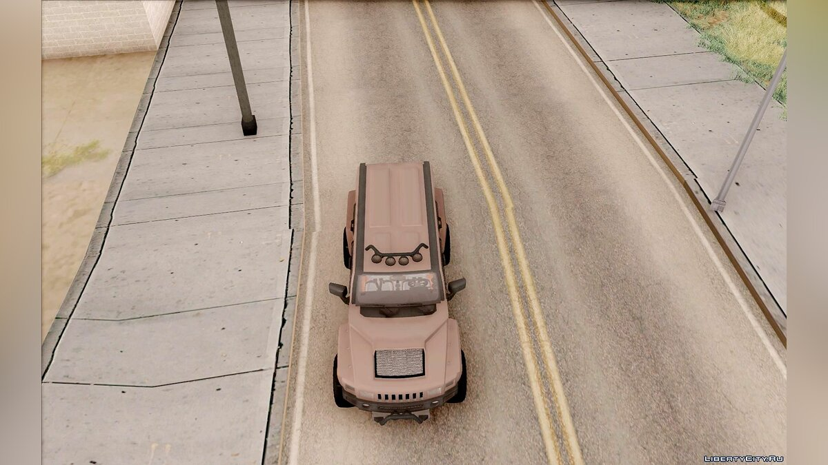 Hummer car Hummer H3R for GTA San Andreas
