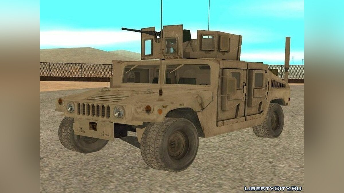 Hummer H1 Military HumVee for GTA San Andreas - Картинка #1