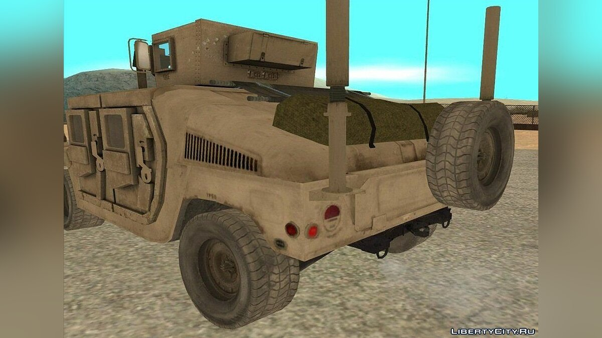 Hummer H1 Military HumVee for GTA San Andreas - Картинка #2