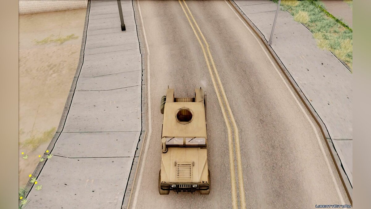 Hummer car Hummer H1 War Edition for GTA San Andreas