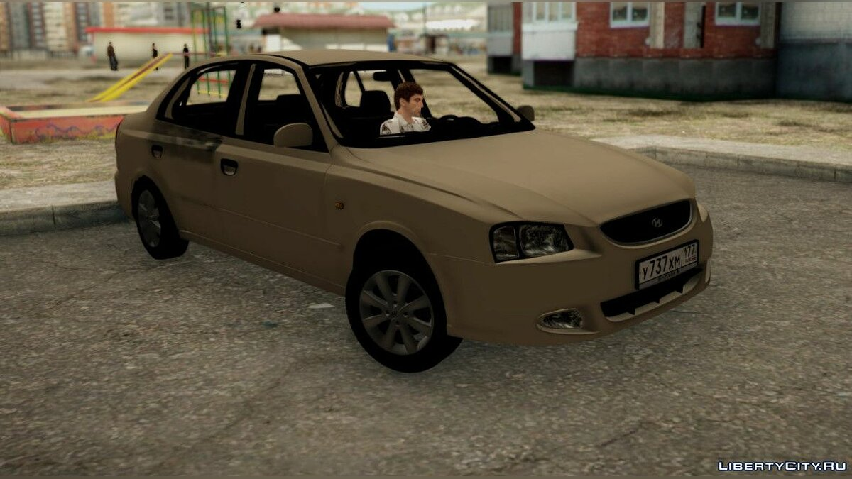Hyundai Accent Stock for GTA San Andreas - Картинка #1