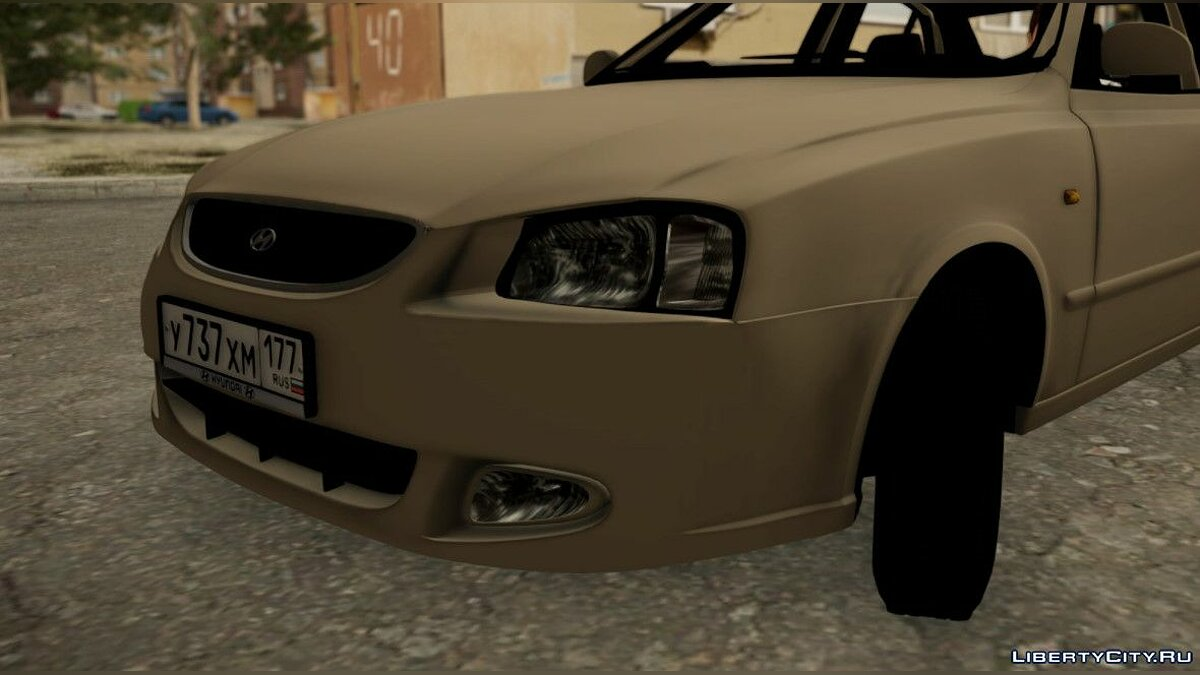 Hyundai Accent Stock for GTA San Andreas - Картинка #4
