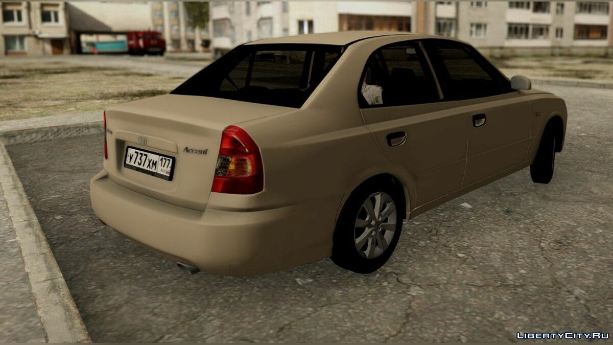 Hyundai Accent Stock for GTA San Andreas - Картинка #6