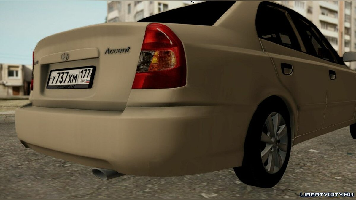Hyundai Accent Stock for GTA San Andreas - Картинка #5