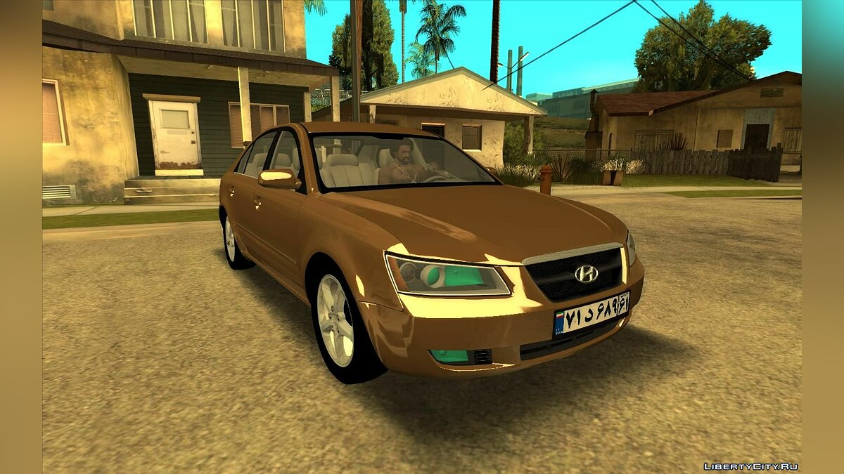 Hyundai car Hyundai Sonata 2008 for GTA San Andreas