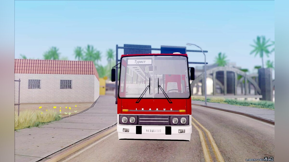 Ikarus car Ikarus 250.14 for GTA San Andreas