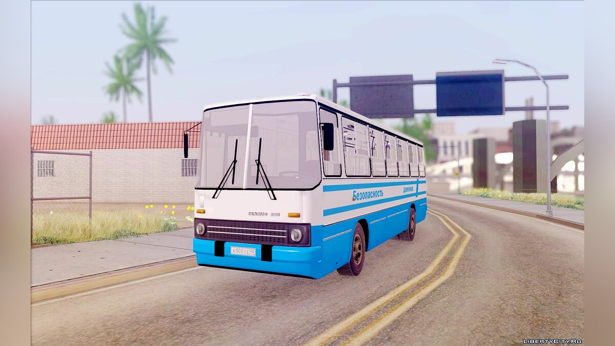 Ikarus car Ikarus 260 Traffic Safety for GTA San Andreas