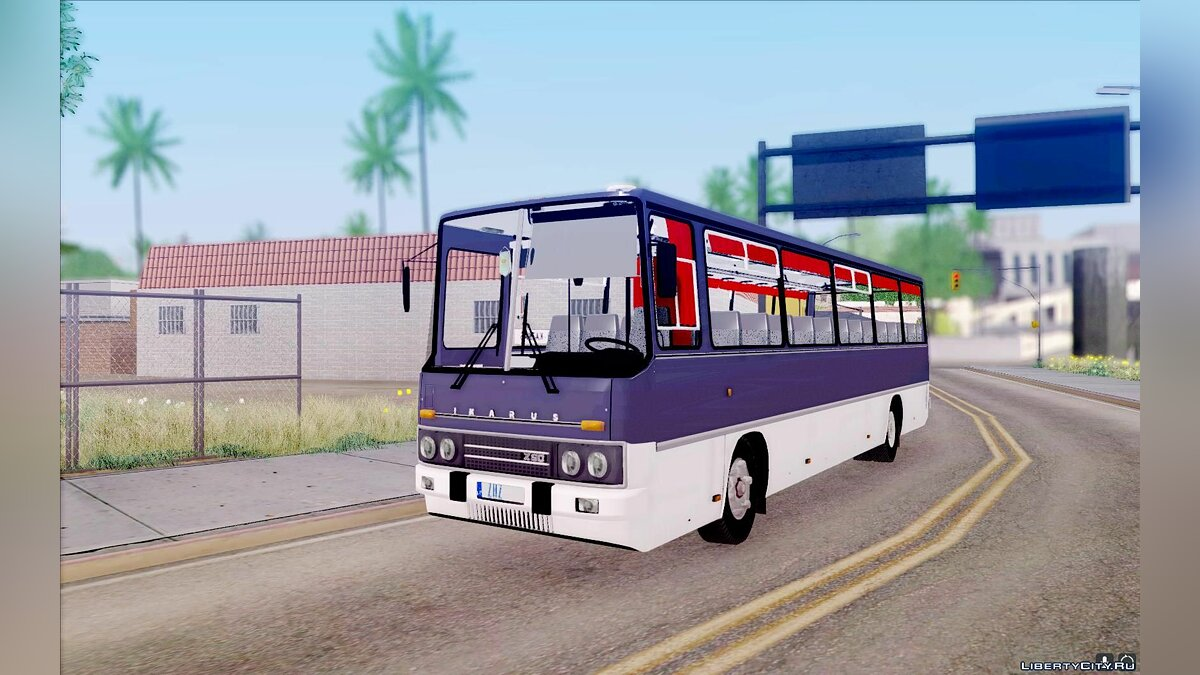 Ikarus car Ikarus 250 for GTA San Andreas