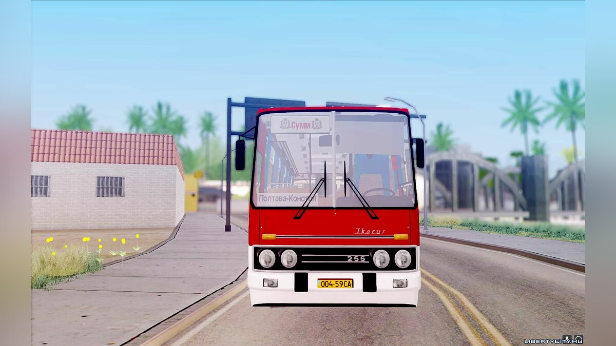 Ikarus car Ikarus 255.01 for GTA San Andreas