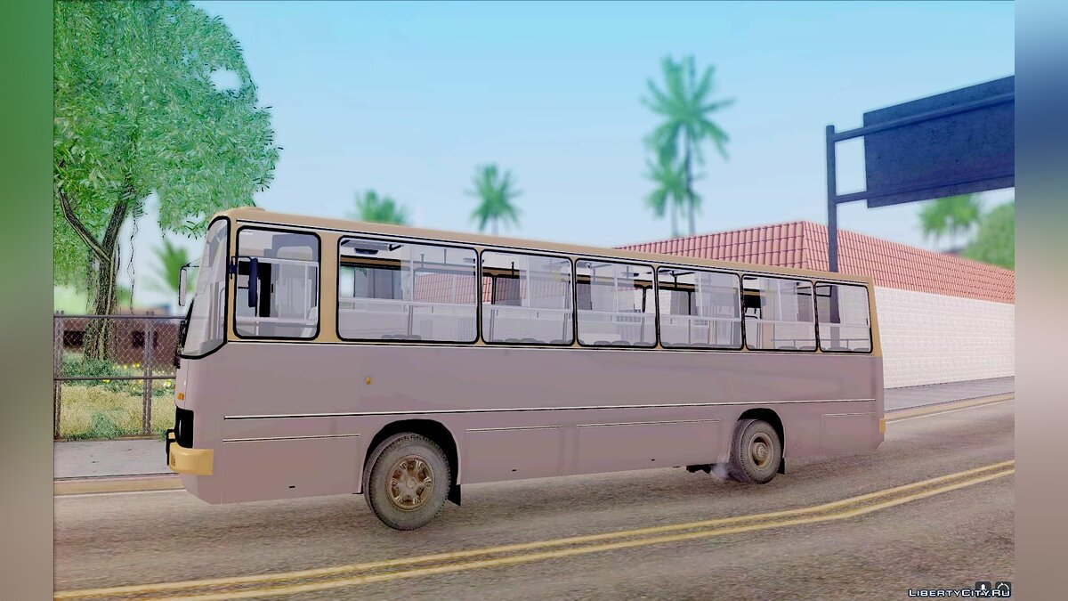 Ikarus car Ikarus 260.51 for GTA San Andreas