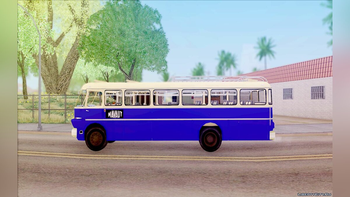 Ikarus car Ikarus 630 for GTA San Andreas