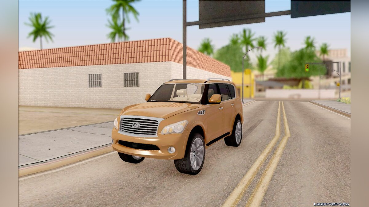 Infinity car Infiniti QX56 for GTA San Andreas