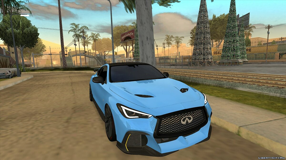 Infinity car Infiniti Q60 Project Black S for GTA San Andreas