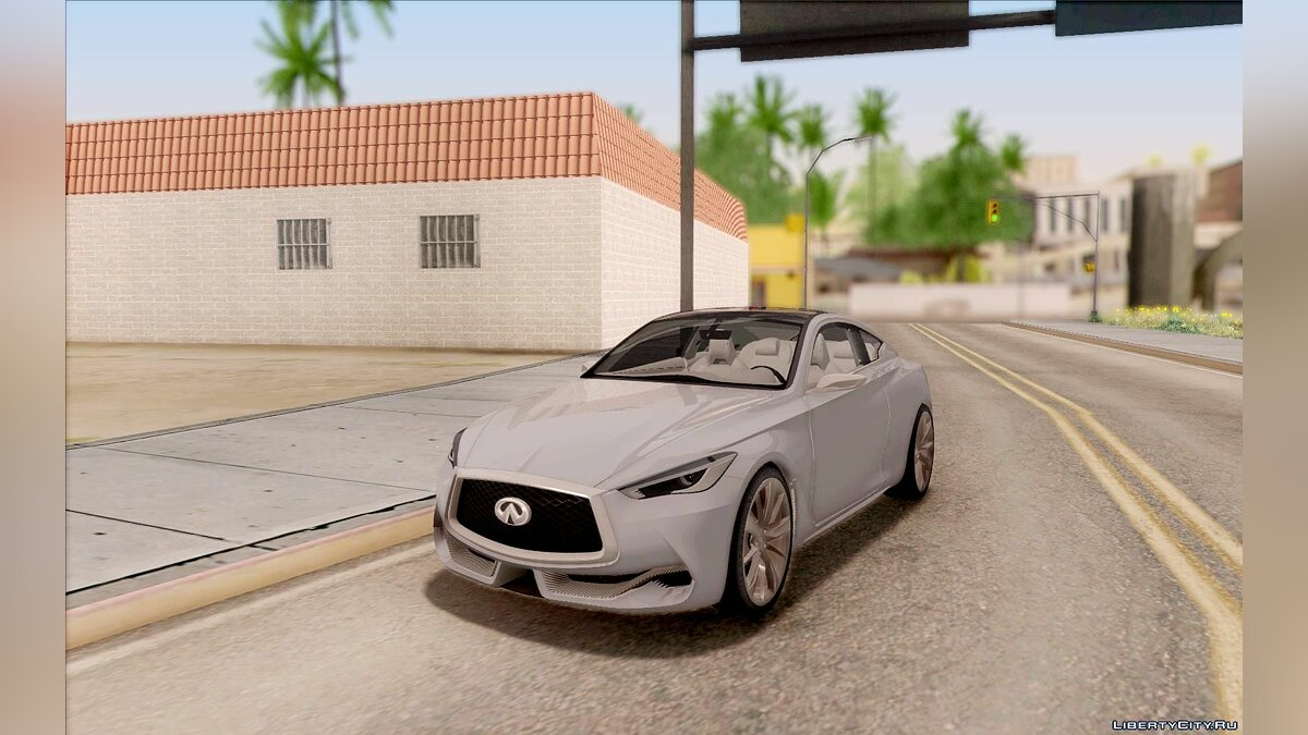 Infinity car Infiniti Q60 for GTA San Andreas