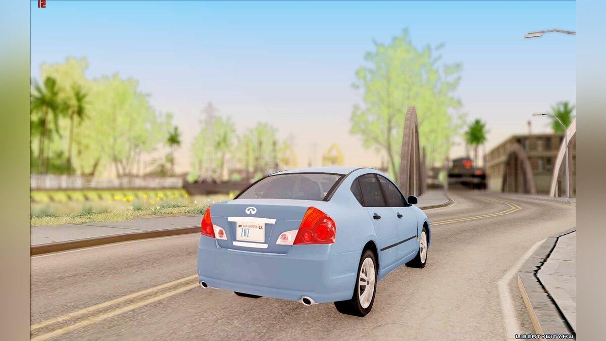 Infinity car Infiniti M35 for GTA San Andreas