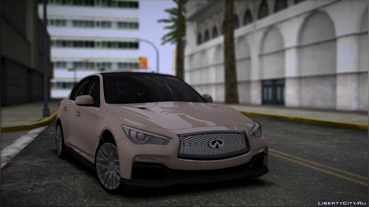 Infinity car Infiniti Q50 for GTA San Andreas