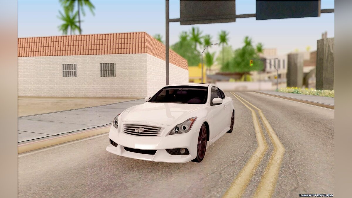Infinity car Infiniti IPL G Coupe 2012 for GTA San Andreas