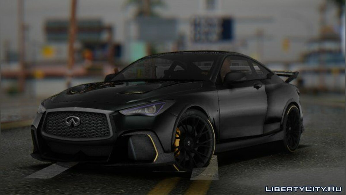 Infinity car 2018 Infiniti Q60 Project Black S for GTA San Andreas