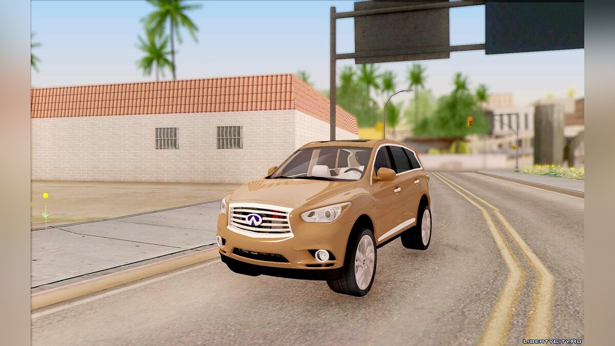 Infinity car Infiniti JX 2013 for GTA San Andreas