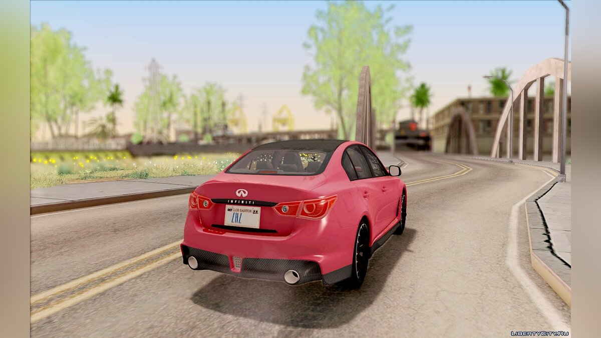 Infinity car 2014 Infiniti Q50 Eau Rouge for GTA San Andreas
