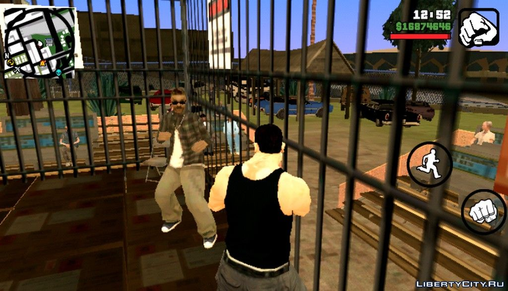 Fights without rules (missions) for GTA San Andreas (iOS